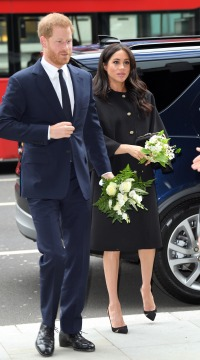 Prince Harry, Duke of Sussex and Meghan, Duchess of Sussex arrive at New Zealand House