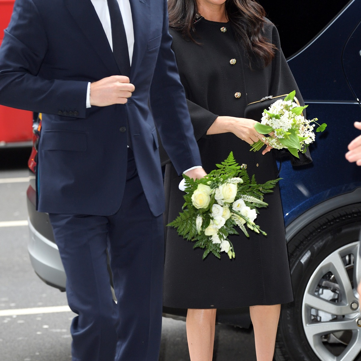 6d506a9c9bbf Meghan Markle's Maternity Style: See All Her Best Baby Bump Looks!