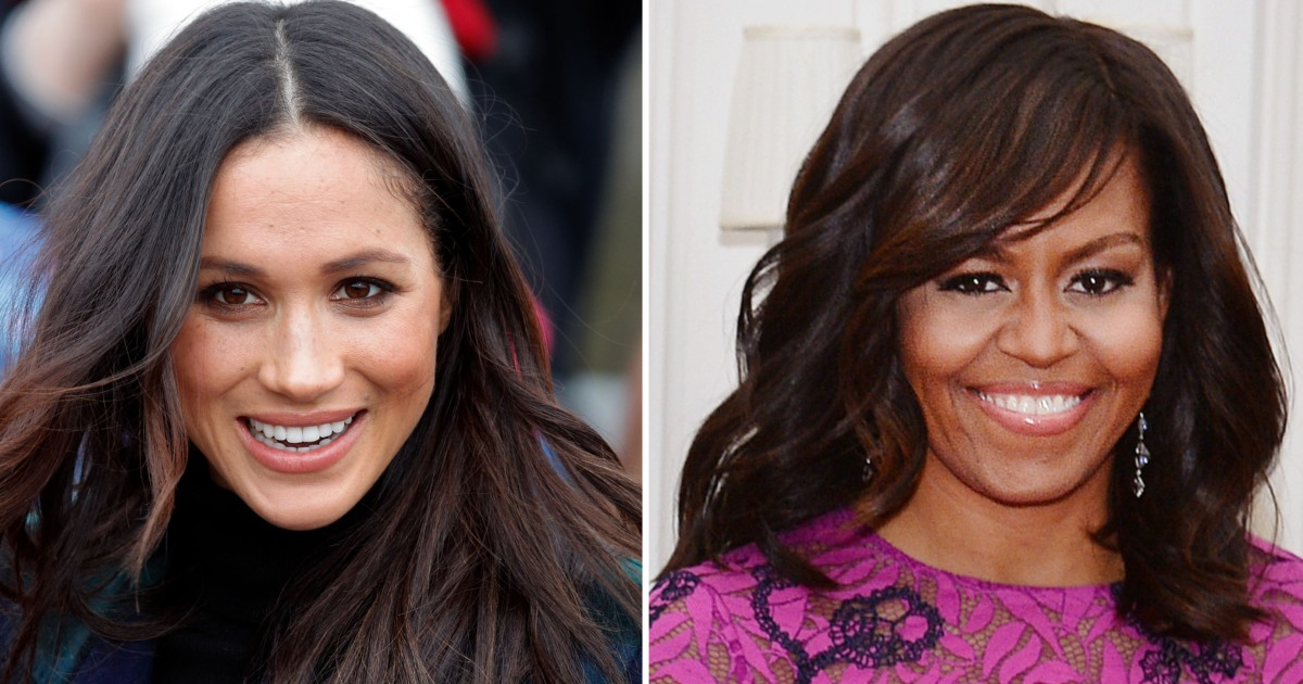 Meghan Markle Reportedly Meets Michelle Obama 'Privately ...