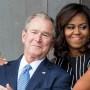 michelle-obama-george-w-bush