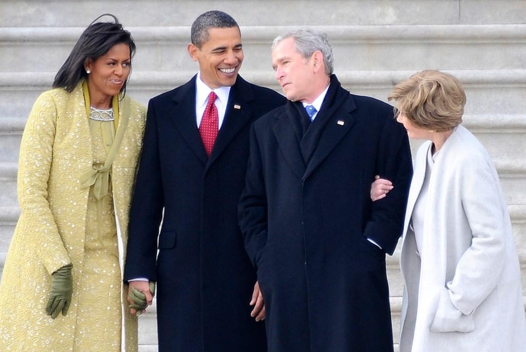 obama-bush-family