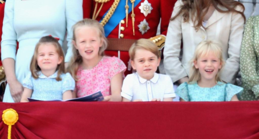 Queen Elizabeth Great-Grandchildren