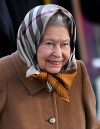 Queen Elizabeth Christmas Train