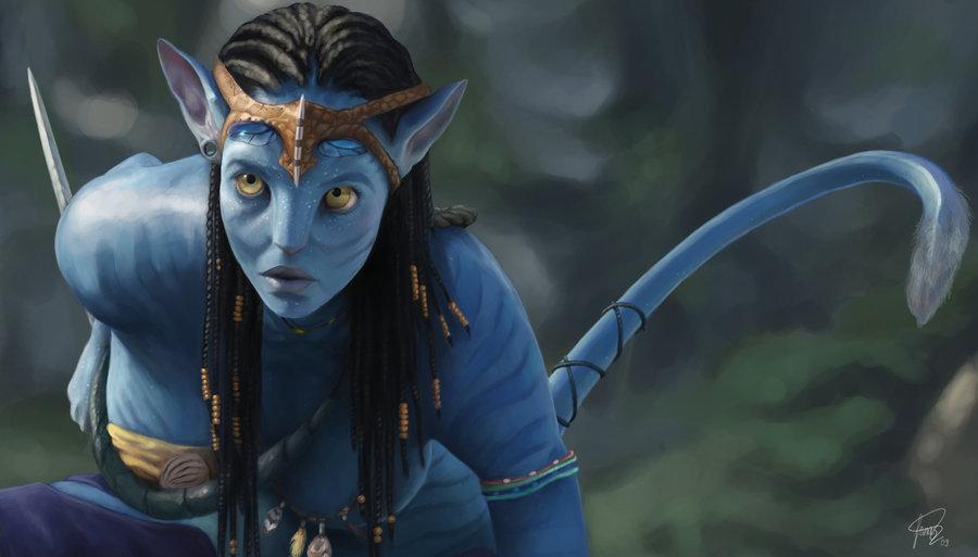Zoe Saldana Talks Filming Avatar In This Exclusive