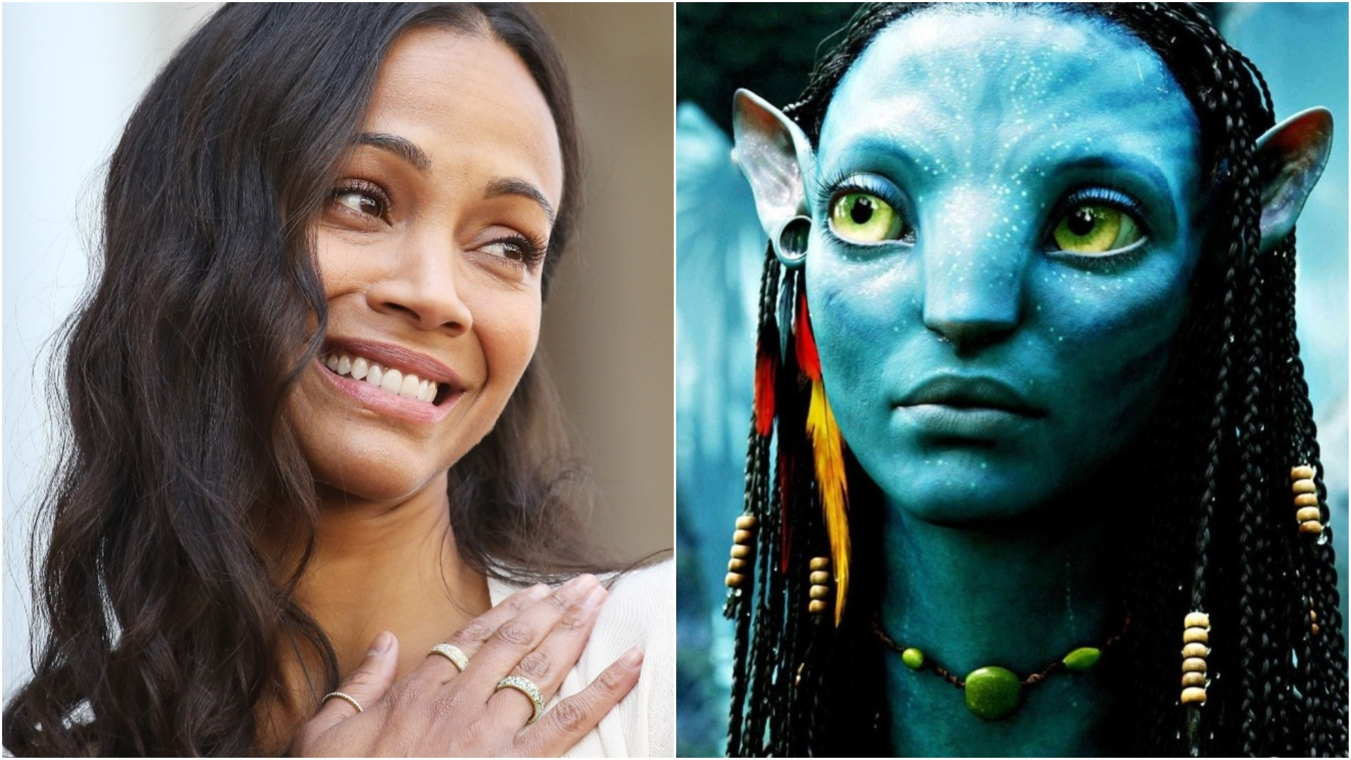 Zoe Saldana Talks Filming Avatar In This Exclusive