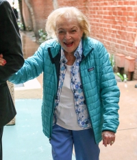 Betty White Looks Great As She Steps Out Ahead Of 97th ...