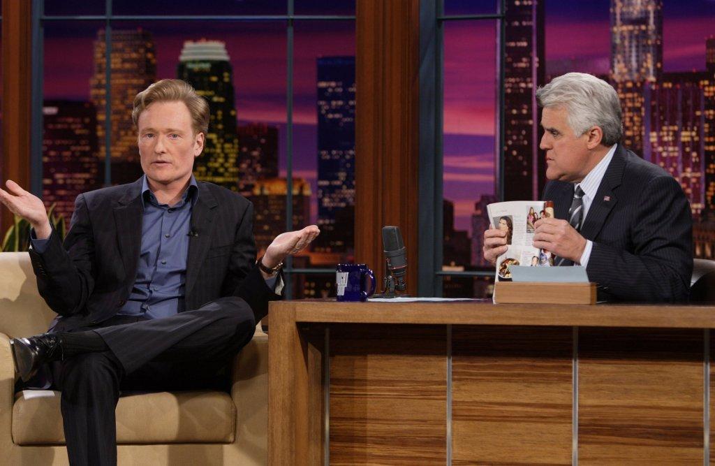 Conan O'Brien Jay Leno