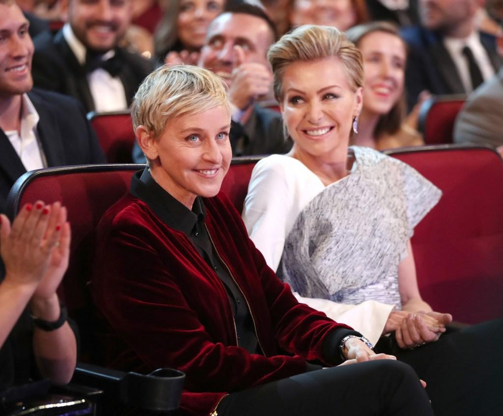 Ellen DeGeneres Portia Rossi