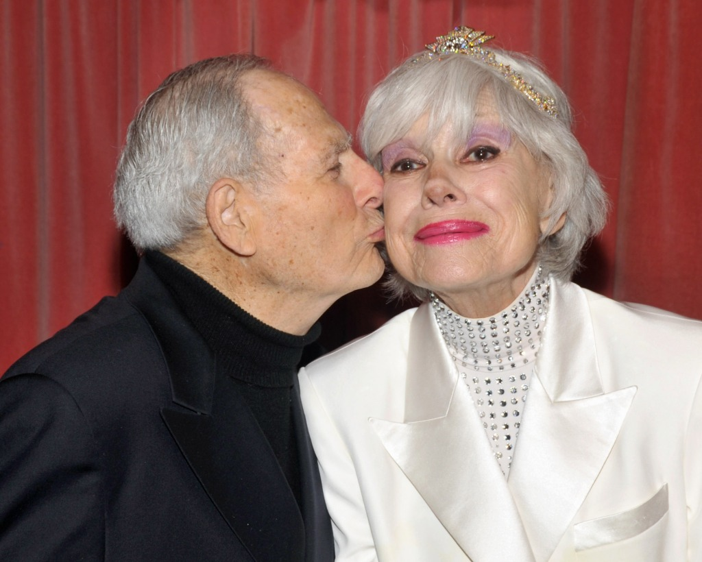 Carol Channing and her husband