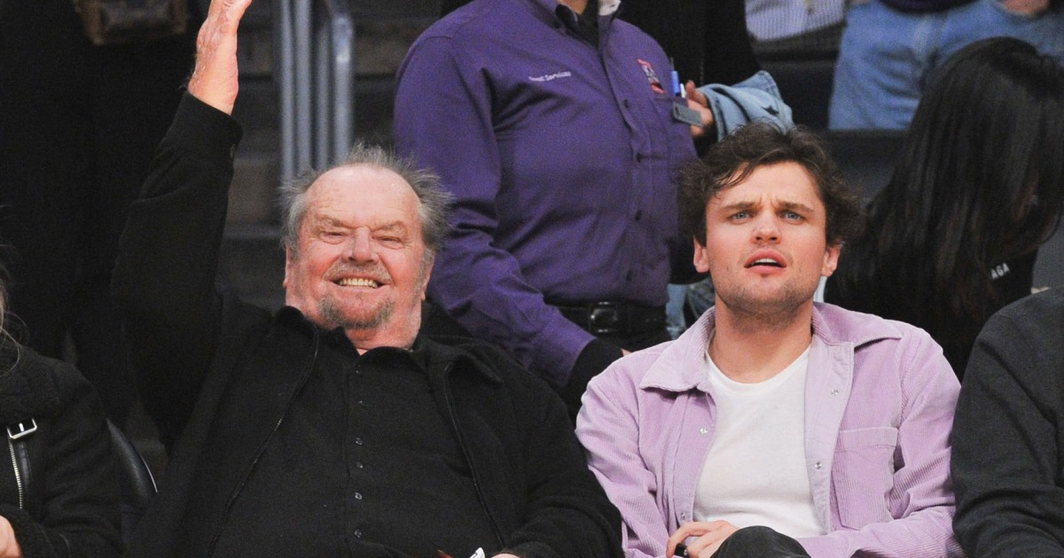 Jack Nicholson Makes Rare Public Appearance With Son Ray ...
