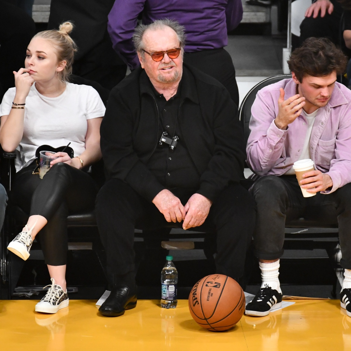 Jack Nicholson Makes Rare Public Appearance With Son Ray At Game Rob schneider, david spade, jon heder, jon lovitz, craig kilborn, molly sims, tim meadows, nick swardson. https www closerweekly com posts jack nicholson makes rare public appearance with son ray at game