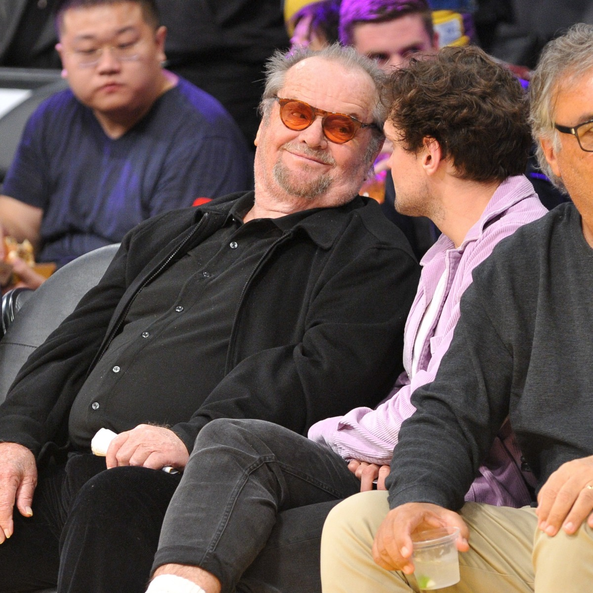 Jack Nicholson Makes Rare Public Appearance With Son Ray At Game Ray made his acting debut in the 2006 film benchwarmers, this year he starred as greg in the t.v series r.i.p. https www closerweekly com posts jack nicholson makes rare public appearance with son ray at game