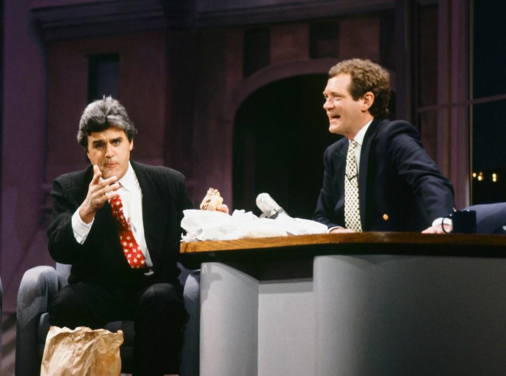 David Letterman Jay Leno