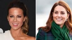 Kate Beckinsale Kate Middleton