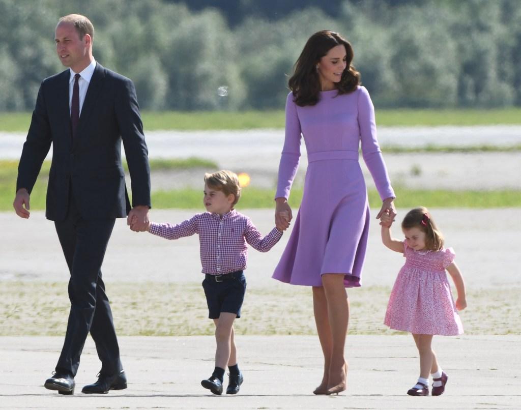 Kate Middleton Prince William Family