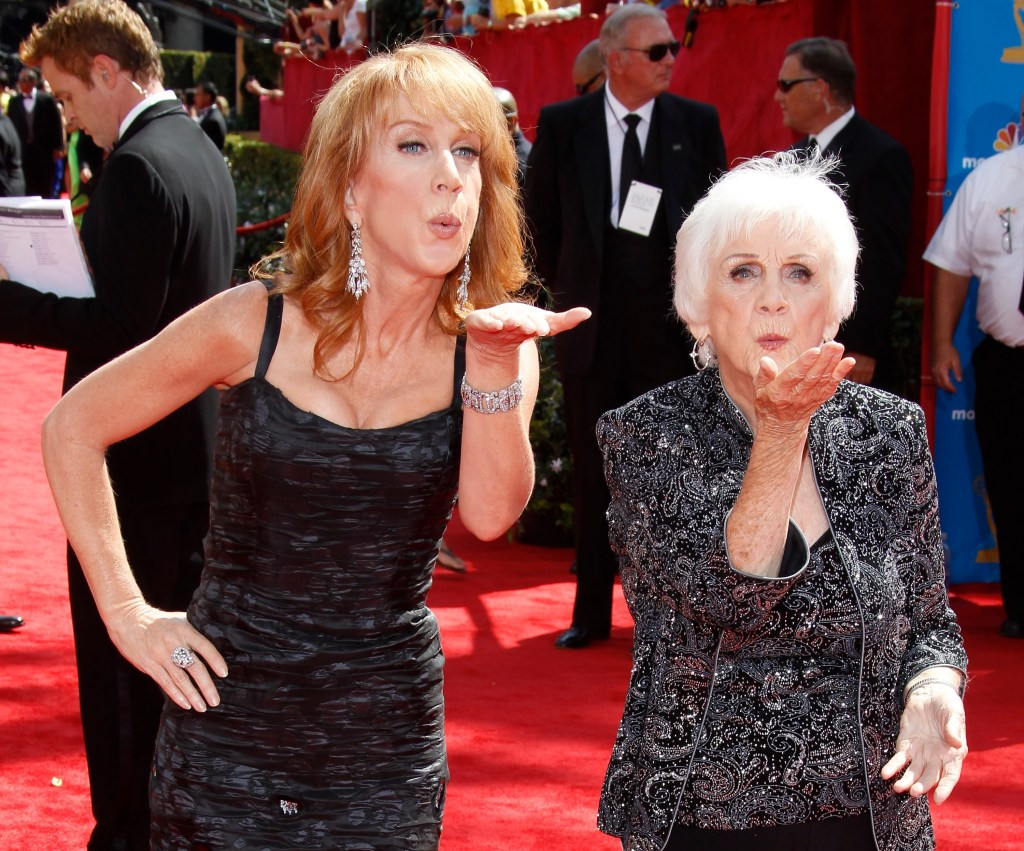 Kathy Griffin with Mom