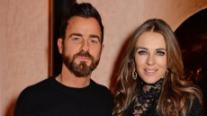 Justin Theroux And Elizabeth Hurley