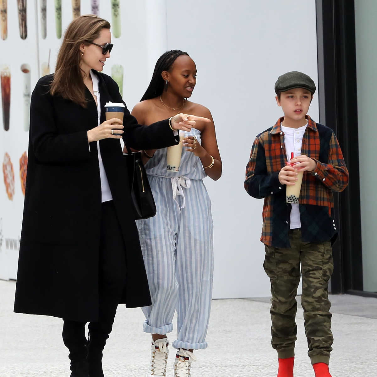 Angelina Jolies Daughter Zahara Looks So Grown Up In New Pics