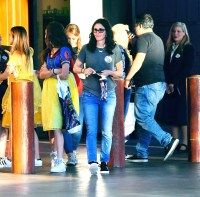 Courteney Cox and daughter Coco