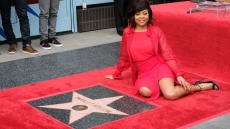 Taraji P Henson Receives the 2655th Star on the Hollywood Walk of Fame