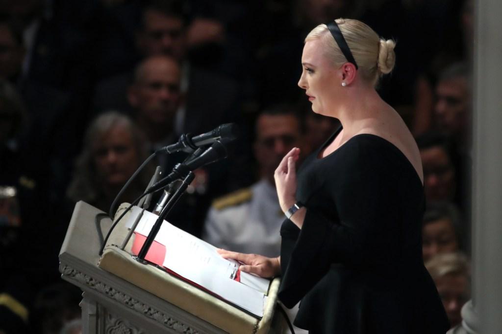 Meghan McCain Funeral Speech