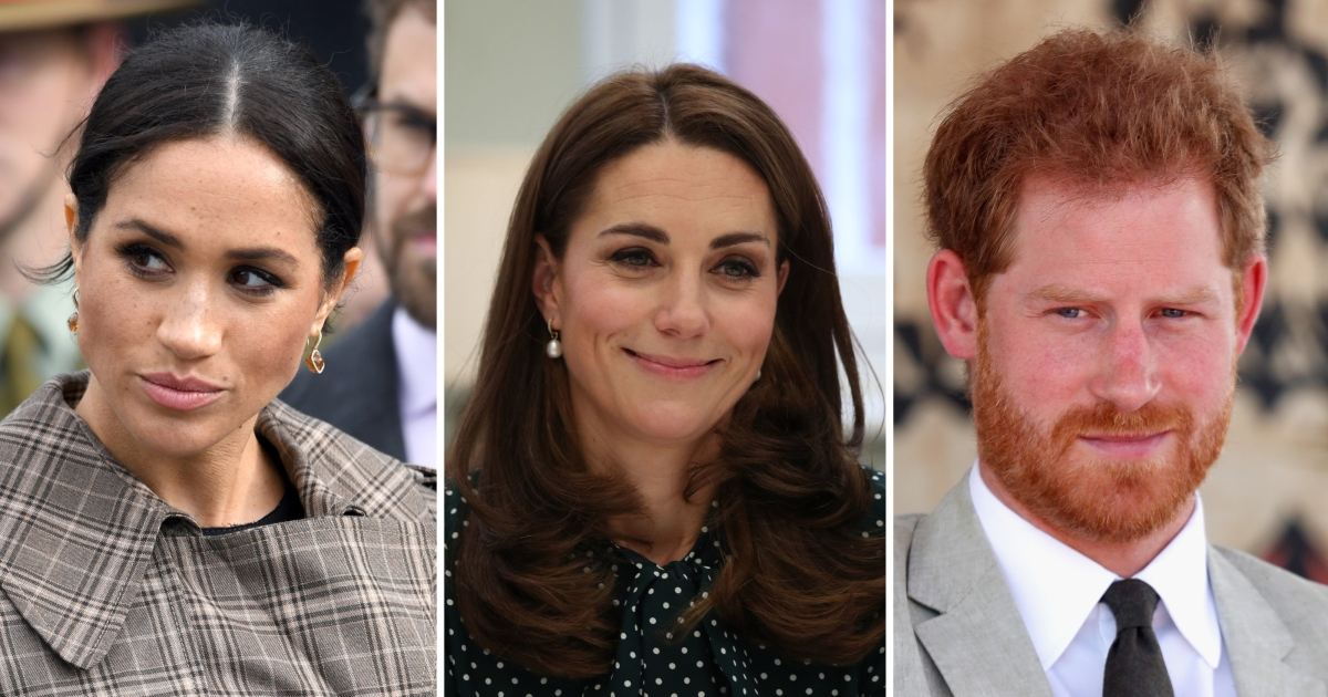 4e840ddc6667d Meghan Markle And Prince Harry Did Not Attend Kate Middleton's Birthday  Lunch (Report)