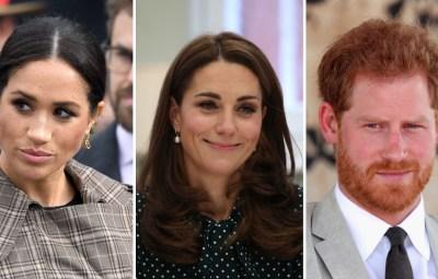 Meghan Markle Kate Middleton Prince Harry