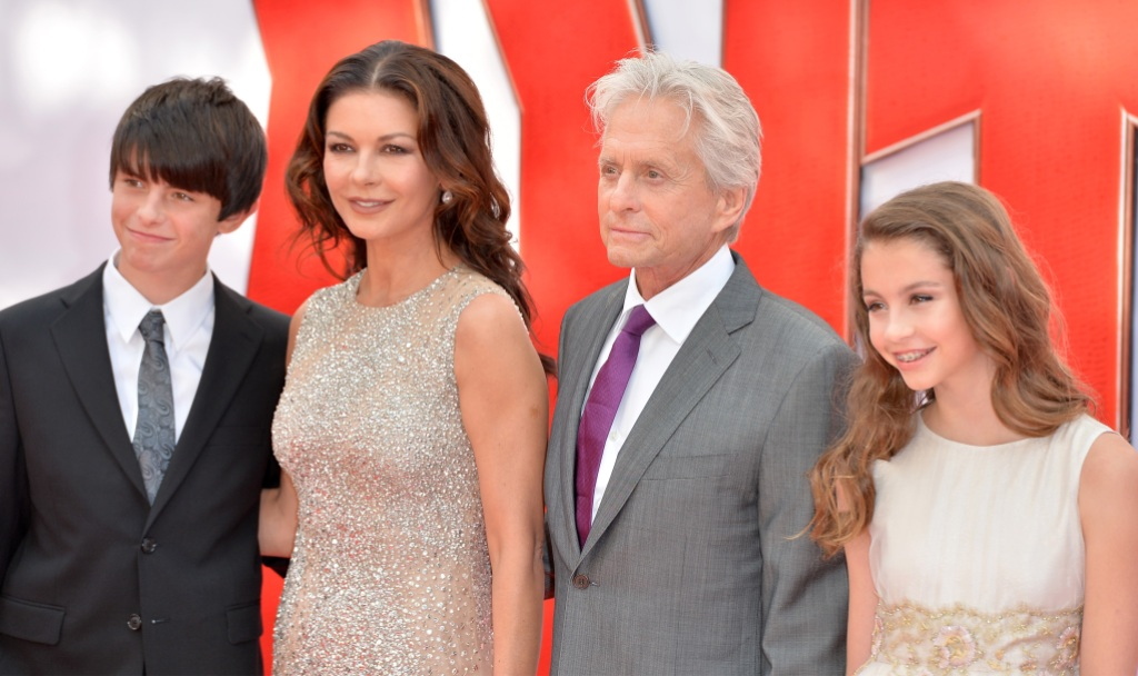 Michael Douglas Family