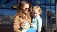 Natalie Portman steps out with daughter Amalia