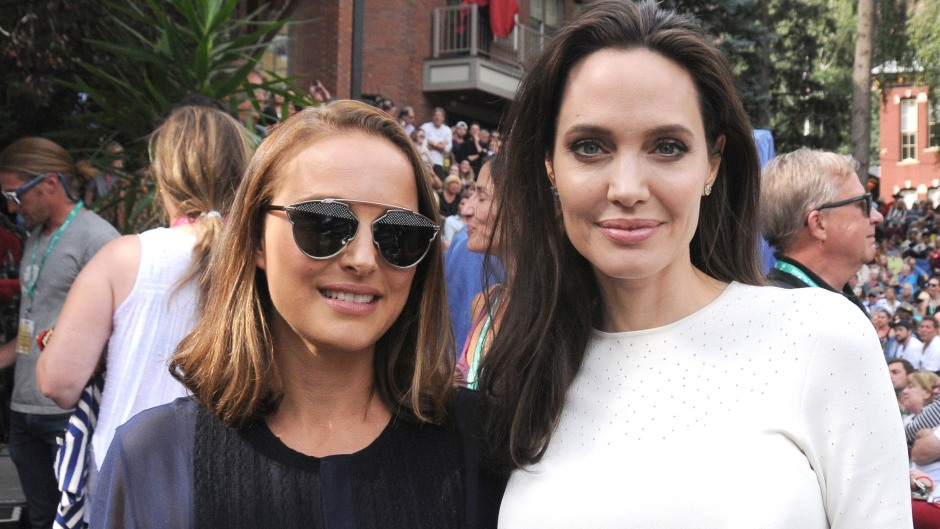 Natalie Portman Angelina Jolie