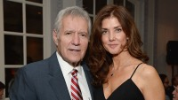 TV host Alex Trebek (L) and Jean Currivan Trebek attend the celebratory dinner after the special tribute to Sophia Loren during the AFI FEST 2014 presented by Audi at Dolby Theatre on November 12, 2014 in Hollywood, California.