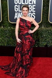 Alyssa Milano Golden Globes