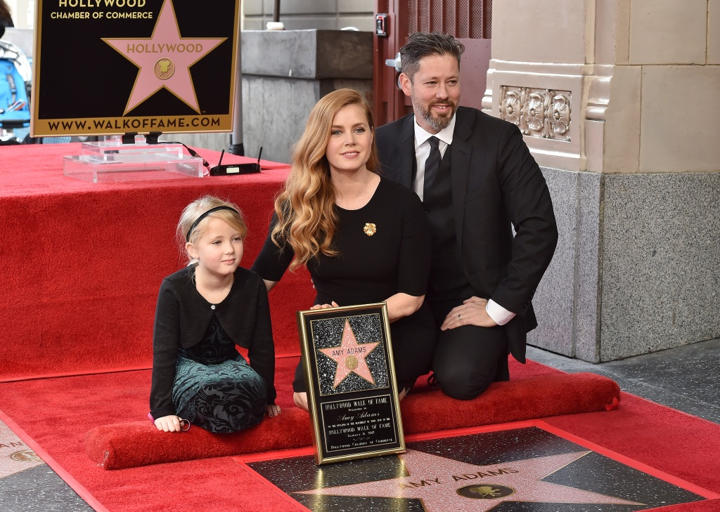 Amy Adams and her family