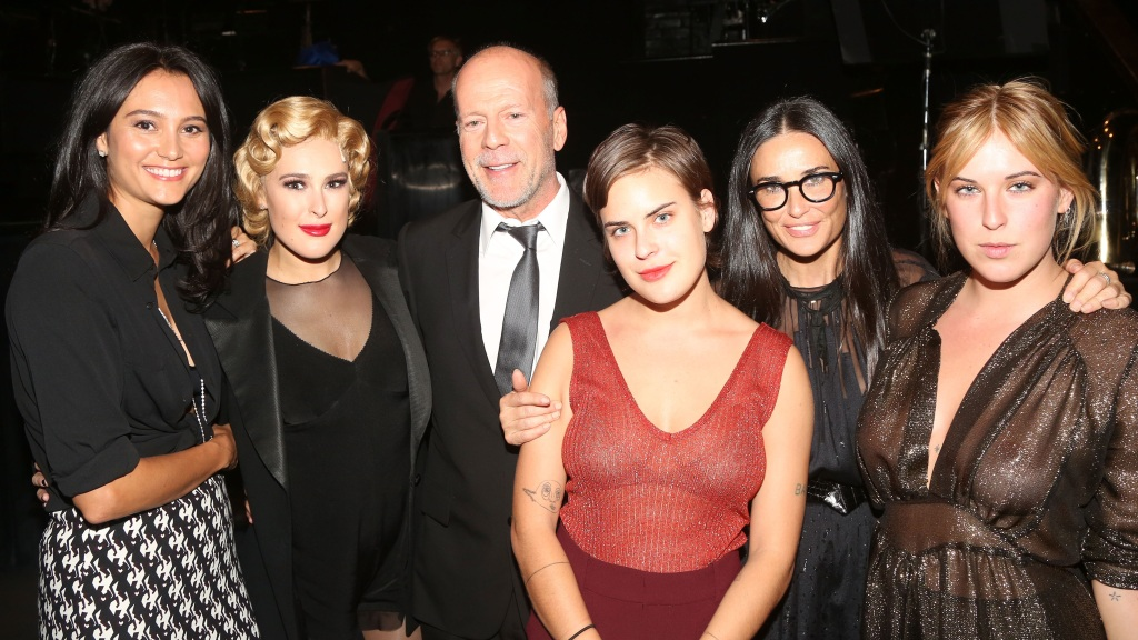 Bruce Willis Demi Morre Family
