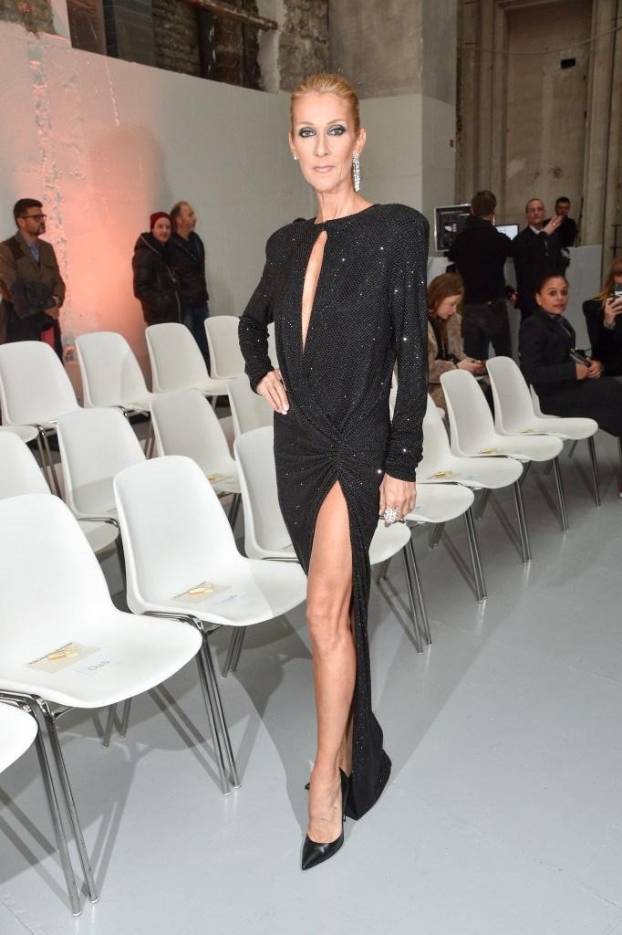 celine-dion-black-gown-pepe-munoz-paris-fashion-week