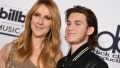 Celine Dion and son Rene Charles Angelil