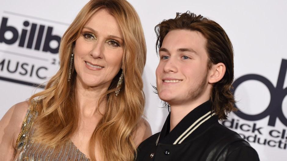 Celine Dion and son Rene Charles Angelil