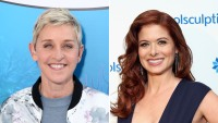 debra-messing-ellen-degeneres-collage