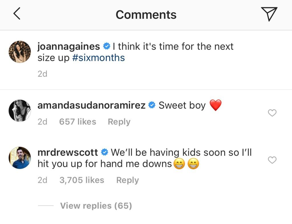 drew-scott-comment-on-joanna-gaines-instagram copy