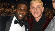 Ellen DeGeneres Kevin Hart