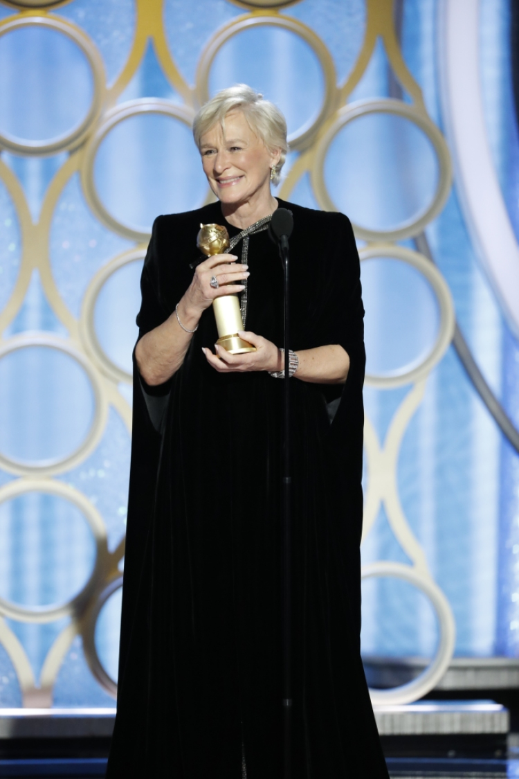 Glenn Close Golden Globes