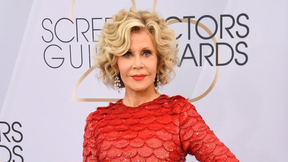 Jane Fonda attends the 25th Annual Screen ActorsGuild Awards