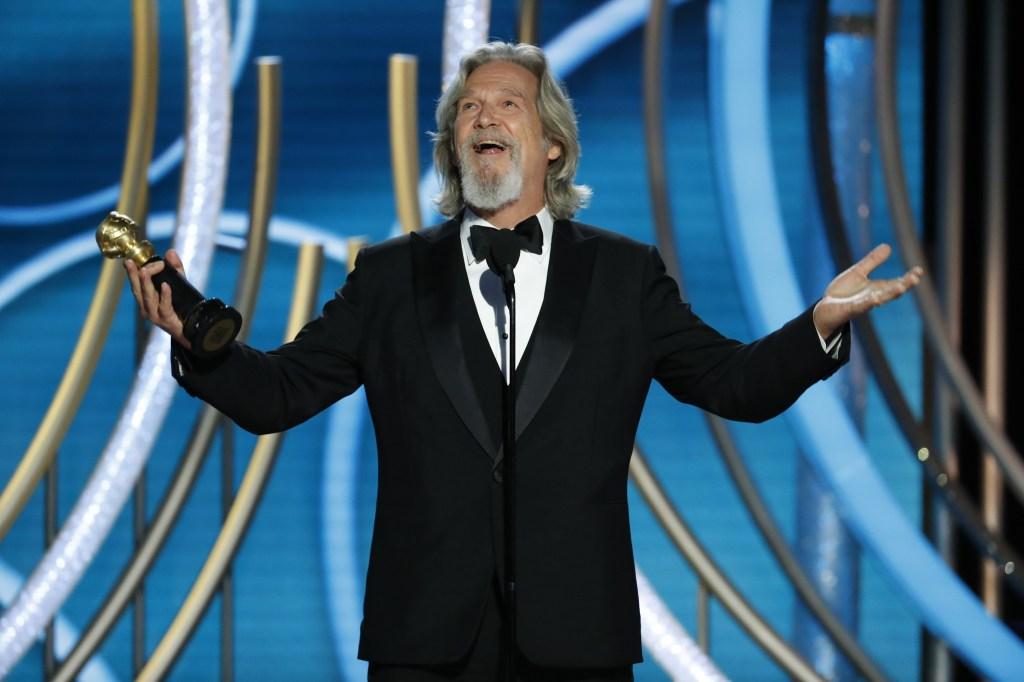 Jeff Bridges Golden Globes