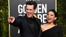 Jim Carrey Girlfriend Golden Globes