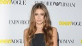 kaia-gerber-teen-vogue-black-dress