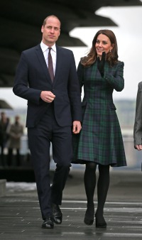 Kate Middleton Prince William Scotland