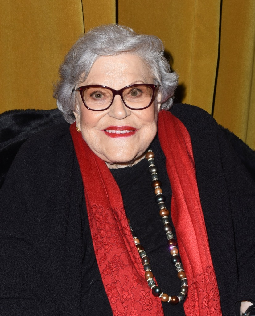 "Kaye Ballard attends a screening of ""Kaye Ballard - the Show Goes On"""