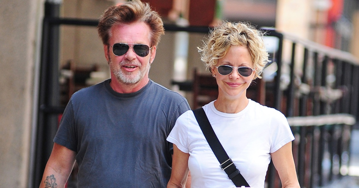 Meg Ryan is engaged She flaunts her engagement ring in New York City