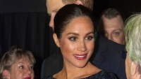 Meghan Markle Wears Red Lipstick For The First Time As A Royal