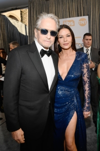 michael douglas and wife catherine zeta jones